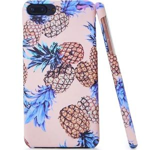 a89cbcf0c4 SHEIN Accessories | Pineapple Print Iphone 6 Plus6 S Plus Case ...